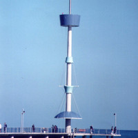 Brighton Jetty Handrail System and Mobile Phone Tower image